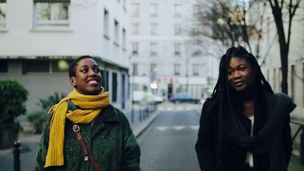 "Flâner. black french culture, ""bande de filles"", afrofuturism, fatou, sisterhood & more"