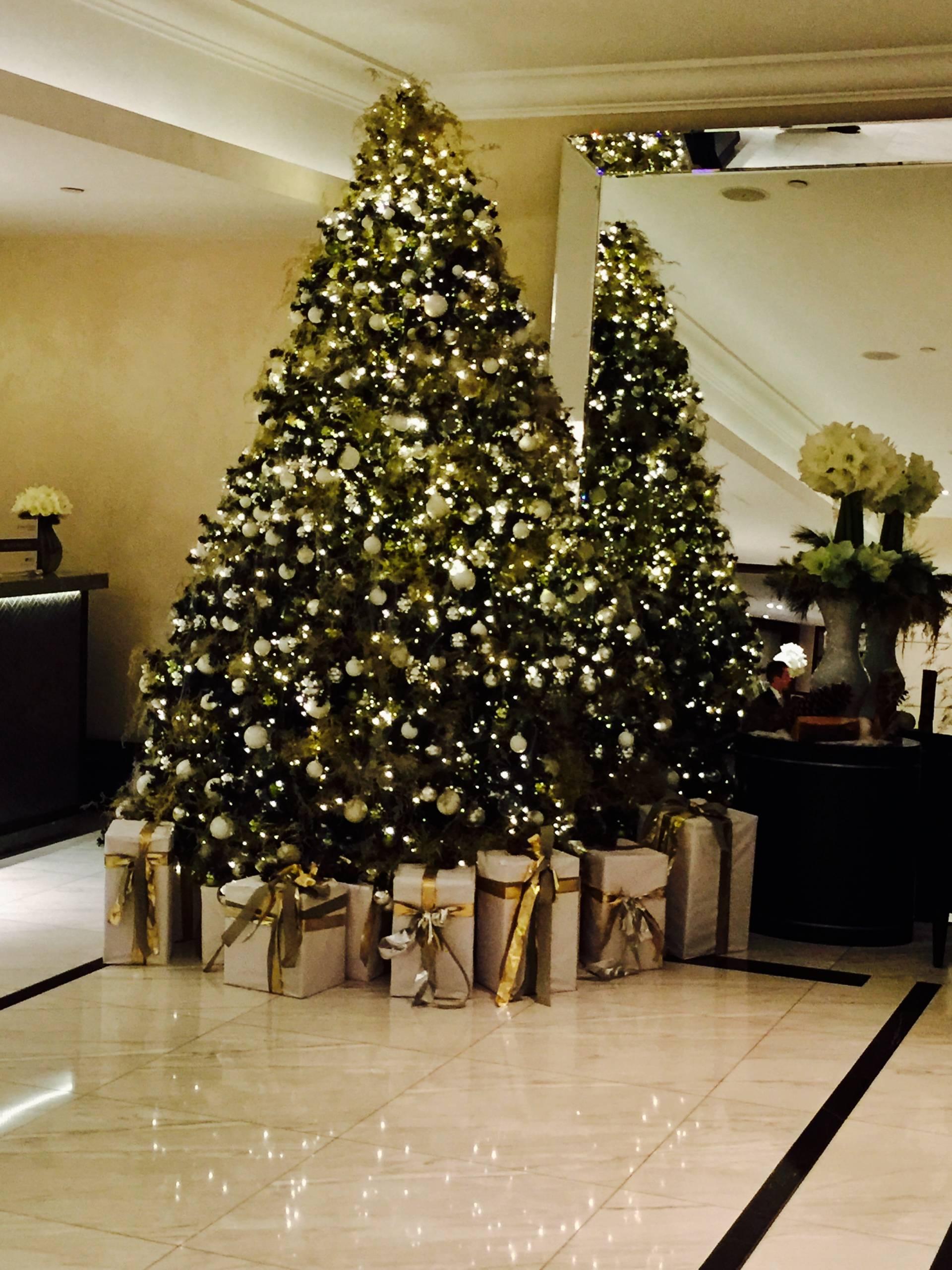 Christmas Afternoon Tea at Intercontinental London Park Lane