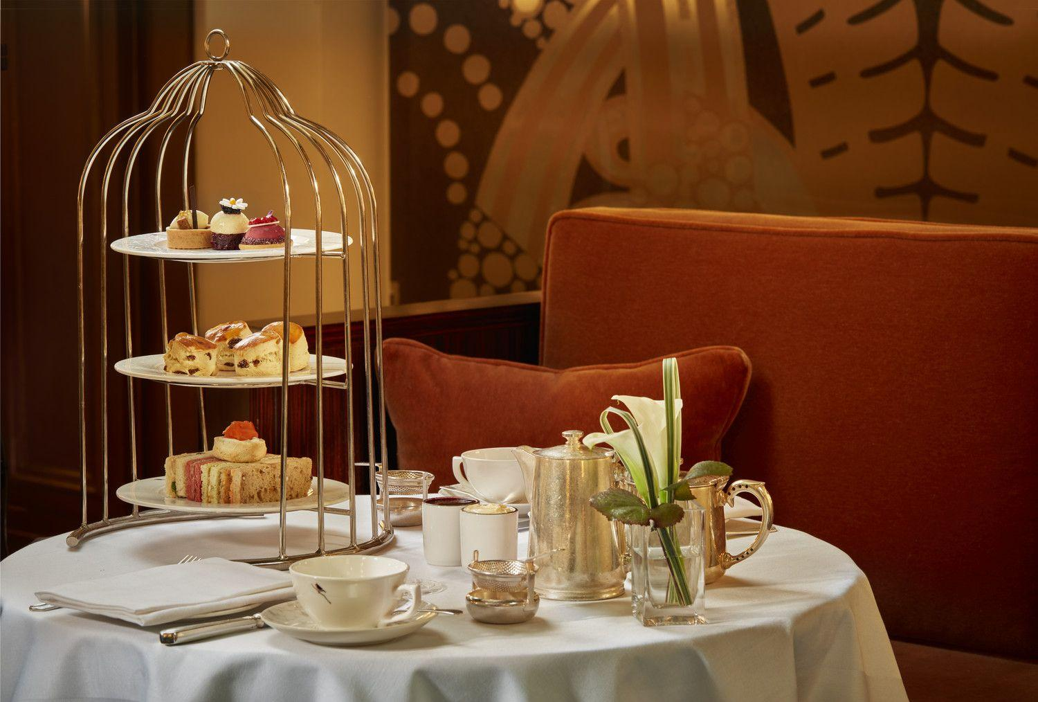 Afternoon Tea at The Sheraton Park Lane Hotel London